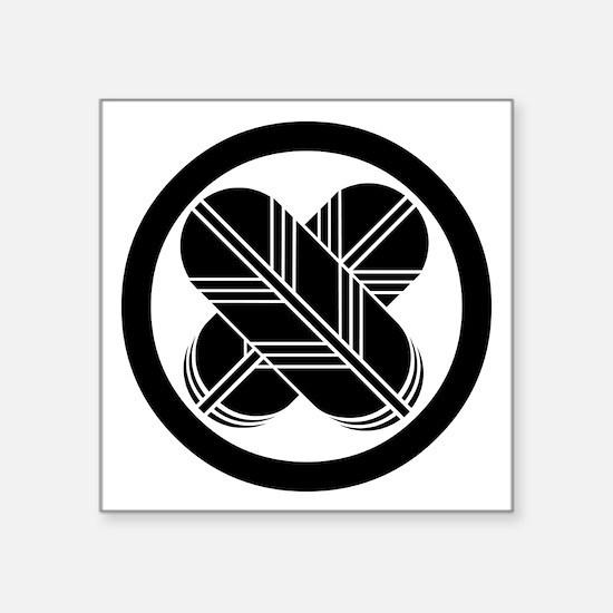 maruni migikasane chigai takanoha Square Sticker 3