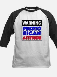 Warning Puerto Rican Attitude Tee