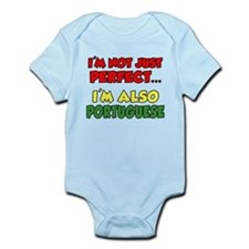 Not Just Perfect Portuguese Infant Bodysuit