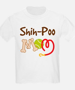 Shih-Poo Dog Mom T-Shirt