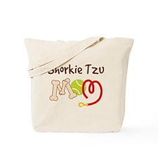 Shorkie Tzu Dog Mom Tote Bag