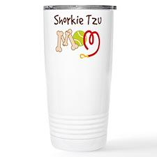 Shorkie Tzu Dog Mom Travel Mug