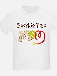Shorkie Tzu Dog Mom T-Shirt