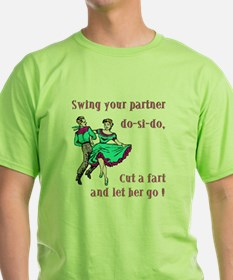 Swing-your-partnerl-one-slide.png T-Shirt