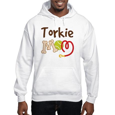Torkie Dog Mom Hooded Sweatshirt
