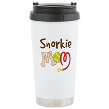 Snorkie Dog Mom Travel Mug