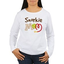 Snorkie Dog Mom T-Shirt