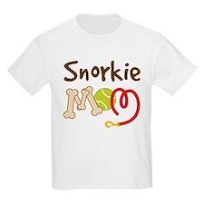 Snorkie Dog Mom T-Shirt