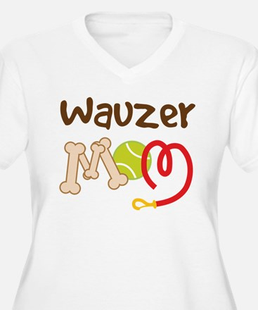 Wauzer Dog Mom T-Shirt