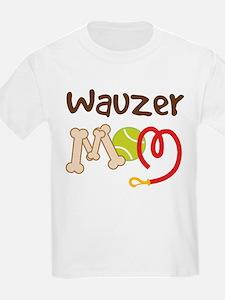 Wauzer Dog Mom T-Shirt