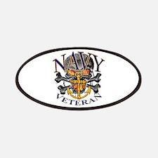 USN Navy Veteran Skull Patches