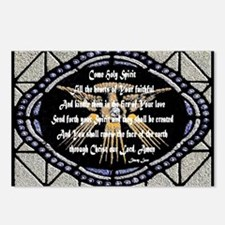 Come Holy Spirit Prayer Mosaic Postcards (Package