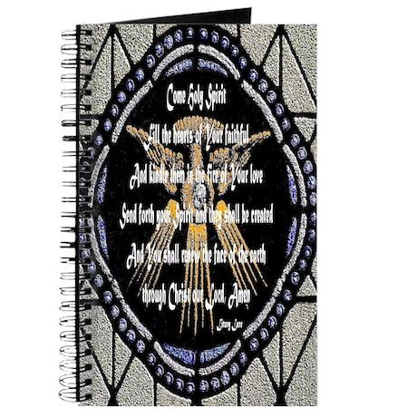 Come Holy Spirit Prayer Mosaic Journal