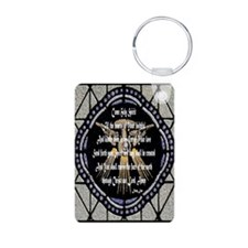 Come Holy Spirit Prayer Mosaic Keychains