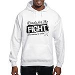 Ready Fight Mesothelioma Hooded Sweatshirt