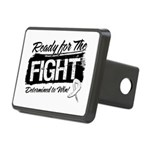 Ready Fight Mesothelioma Rectangular Hitch Cover