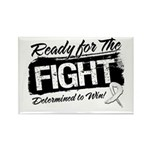 Ready Fight Mesothelioma Rectangle Magnet
