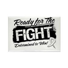 Ready Fight Mesothelioma Rectangle Magnet (10 pack