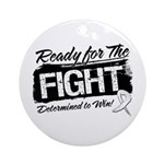 Ready Fight Mesothelioma Ornament (Round)