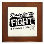 Ready Fight Mesothelioma Framed Tile