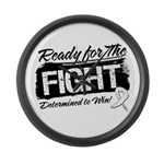 Ready Fight Mesothelioma Large Wall Clock