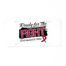 Ready Fight Multiple Myeloma Aluminum License Plat