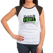 Ready Fight Non-Hodgkins Women's Cap Sleeve T-Shir