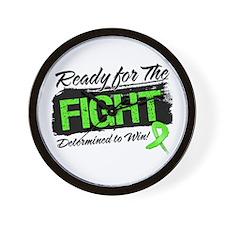 Ready Fight Non-Hodgkins Wall Clock