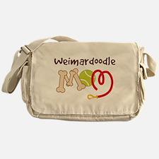 Weimardoodle Dog Mom Messenger Bag