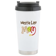 Westie Laso Dog Mom Travel Mug