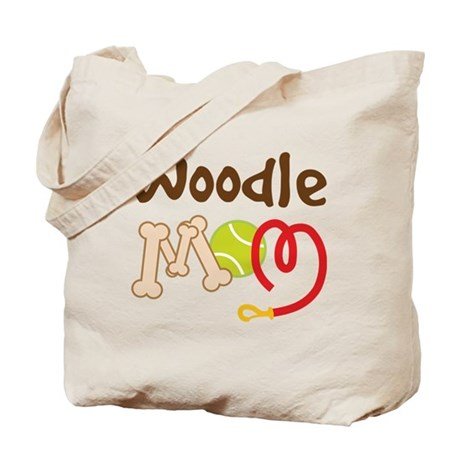 Woodle Dog Mom Tote Bag