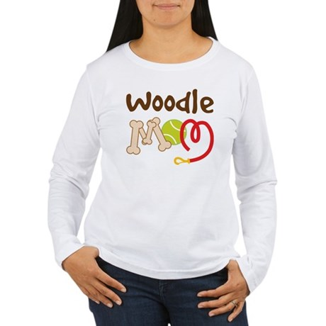 Woodle Dog Mom Women's Long Sleeve T-Shirt