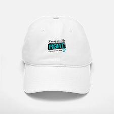 Ready Fight Ovarian Cancer Baseball Baseball Cap