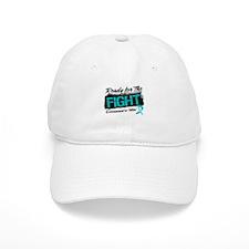 Ready Fight Ovarian Cancer Baseball Cap
