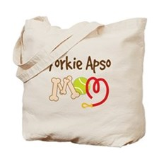 Yorkie Apso Dog Mom Tote Bag