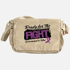 Ready Fight Pancreatic Cancer Messenger Bag