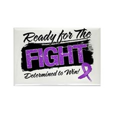 Ready Fight Pancreatic Cancer Rectangle Magnet