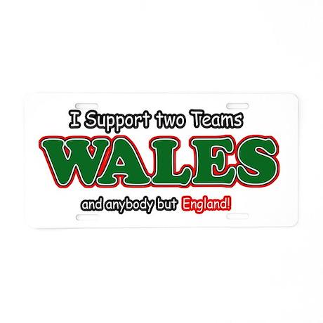 Funny Welsh designs Aluminum License Plate