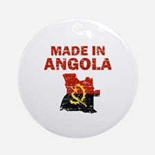 Made In Angola Ornament (Round)