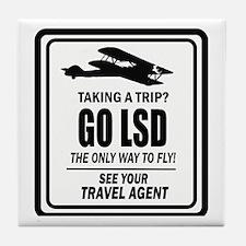 trip Tile Coaster