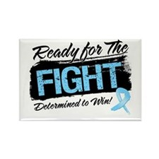 Ready Fight Prostate Cancer Rectangle Magnet