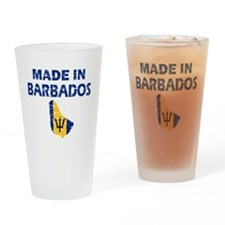 Made In Barbados Drinking Glass