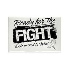 Ready Fight Retinoblastoma Rectangle Magnet