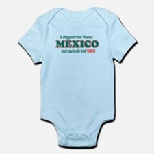Funny Mexico Designs Infant Bodysuit