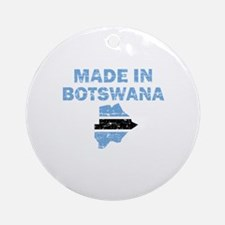Made In Botswana Ornament (Round)