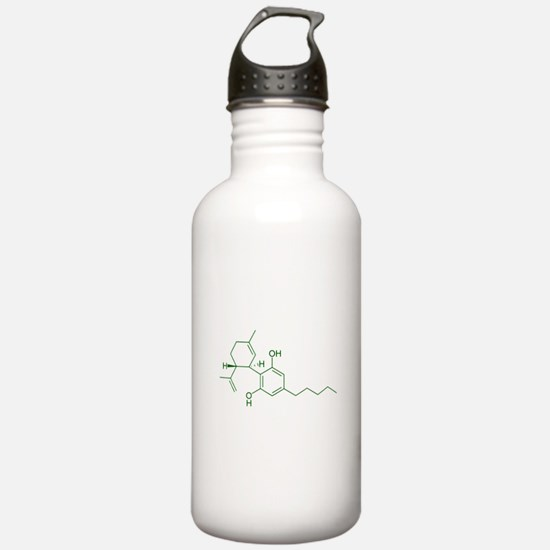 Cannabidiol CBD Sports Water Bottle