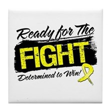 Ready Fight Sarcoma Tile Coaster