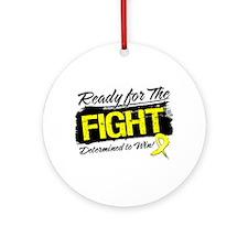 Ready Fight Sarcoma Ornament (Round)