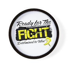 Ready Fight Sarcoma Wall Clock