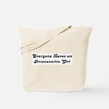 Loves Antananarivo Girl Tote Bag